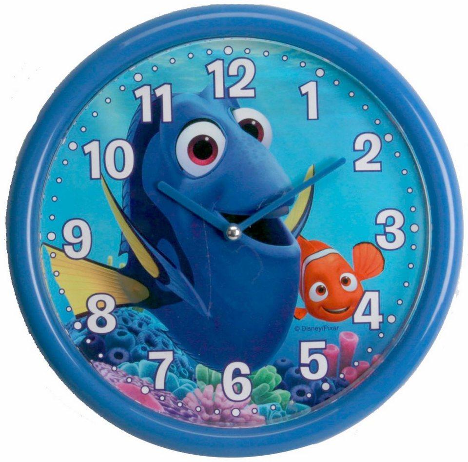 Home affaire Wanduhr »Disney Findet Dorie« in blau