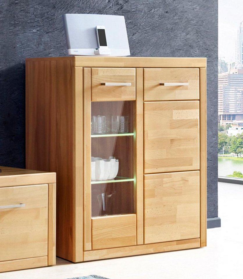 kleine vitrine h he 100 cm online kaufen otto. Black Bedroom Furniture Sets. Home Design Ideas