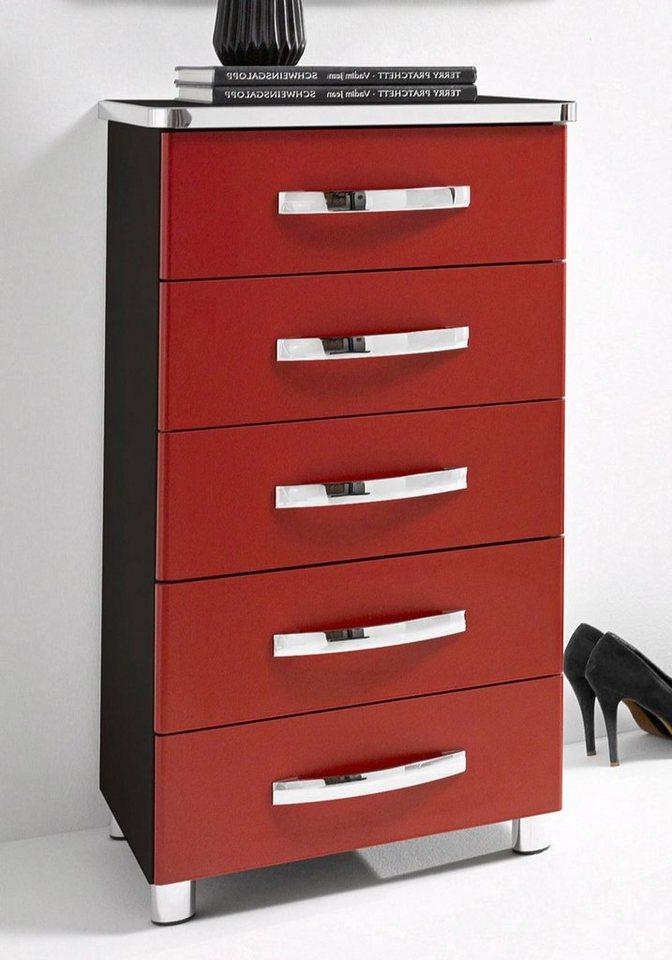 inosign konsole mit 5 schubk sten breite 45 cm made in germany online kaufen otto. Black Bedroom Furniture Sets. Home Design Ideas