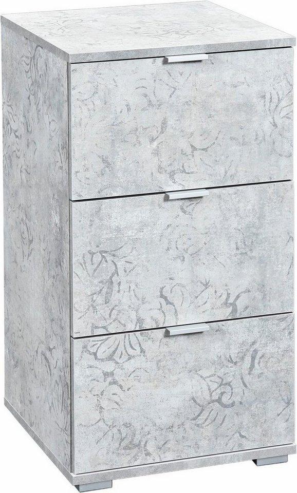 Kommode »Blies « Breite 40 cm in grau