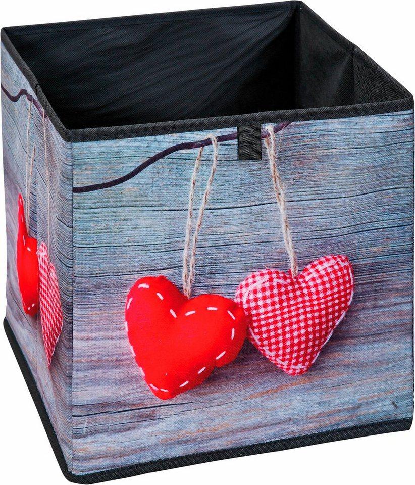 Faltbox »Herzen« in große Herzen