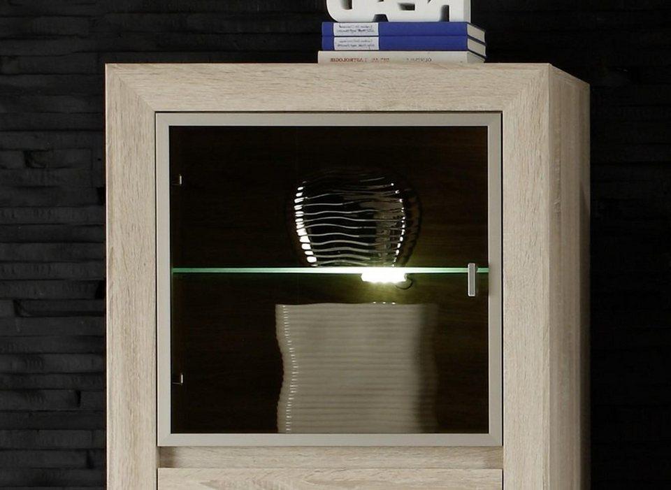 Beleuchtung Glasboden-Clip in weiß