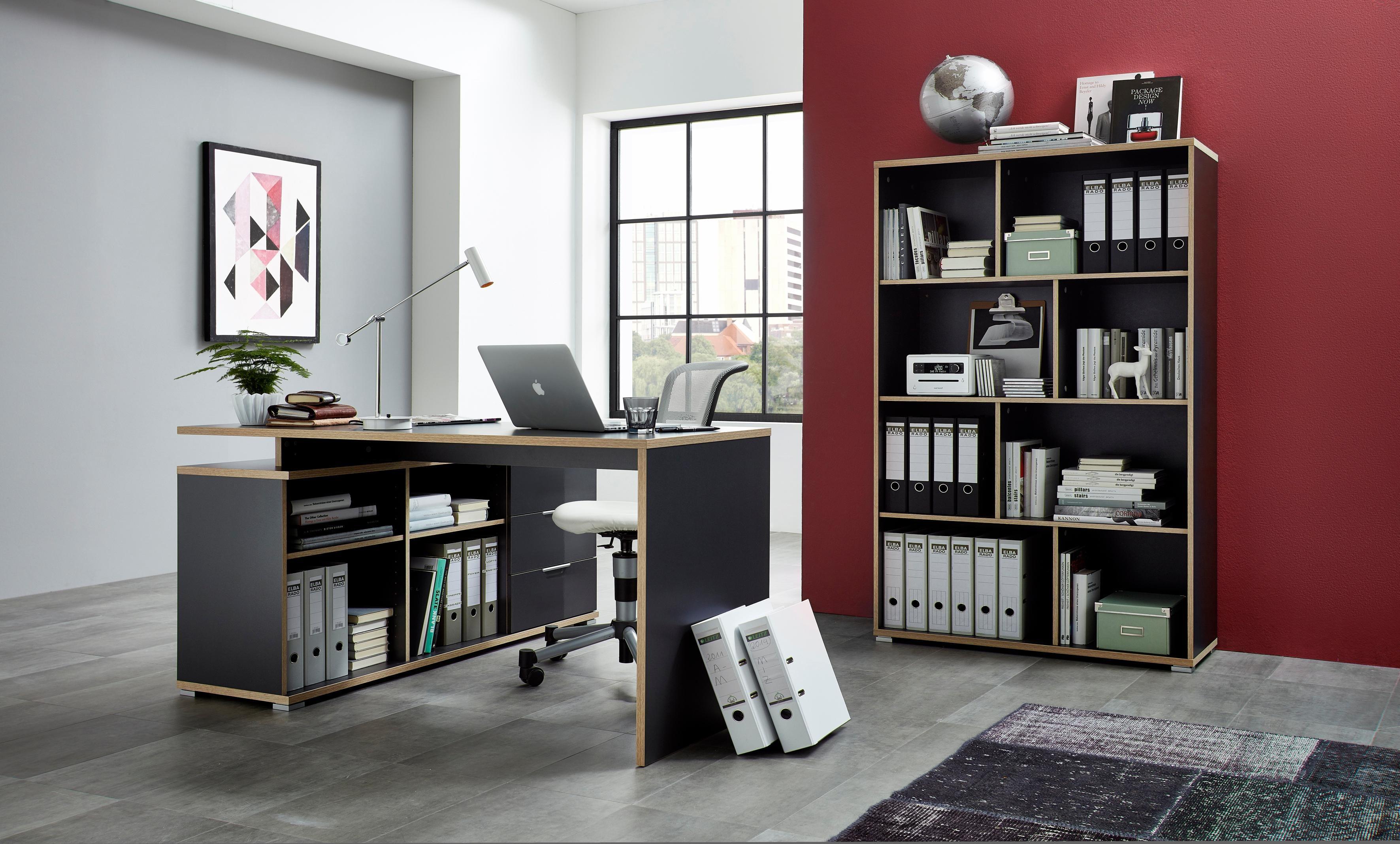 GERMANIA Büromöbel-Set »4081 + 4082« (2-tlg.) | Büro > Büromöbel-Serien | Melamin | GERMANIA
