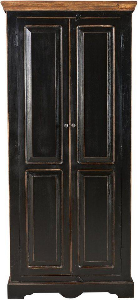 SIT Schrank »Corsica«, Breite 80 cm in schwarz/honig