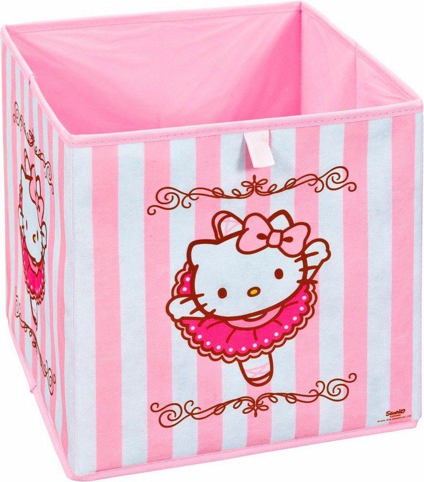 Faltbox »Hello Kitty« in rosa-weiß
