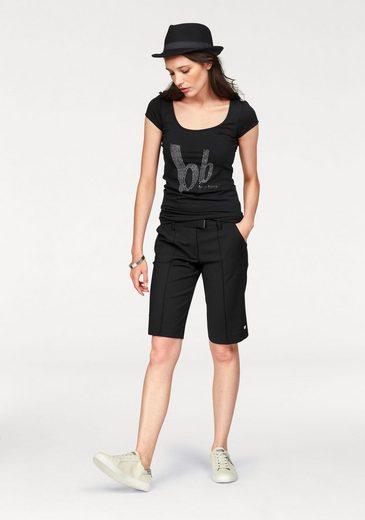 Logo Banani Bruno besatz Mit steinchen shirt T wIx0qFd