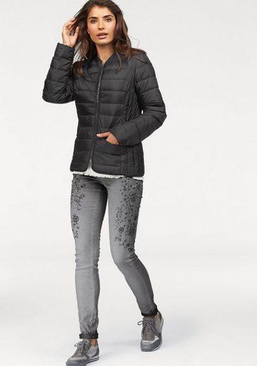 Boysen Turn Jacket, With Fine Herringbone-pattern