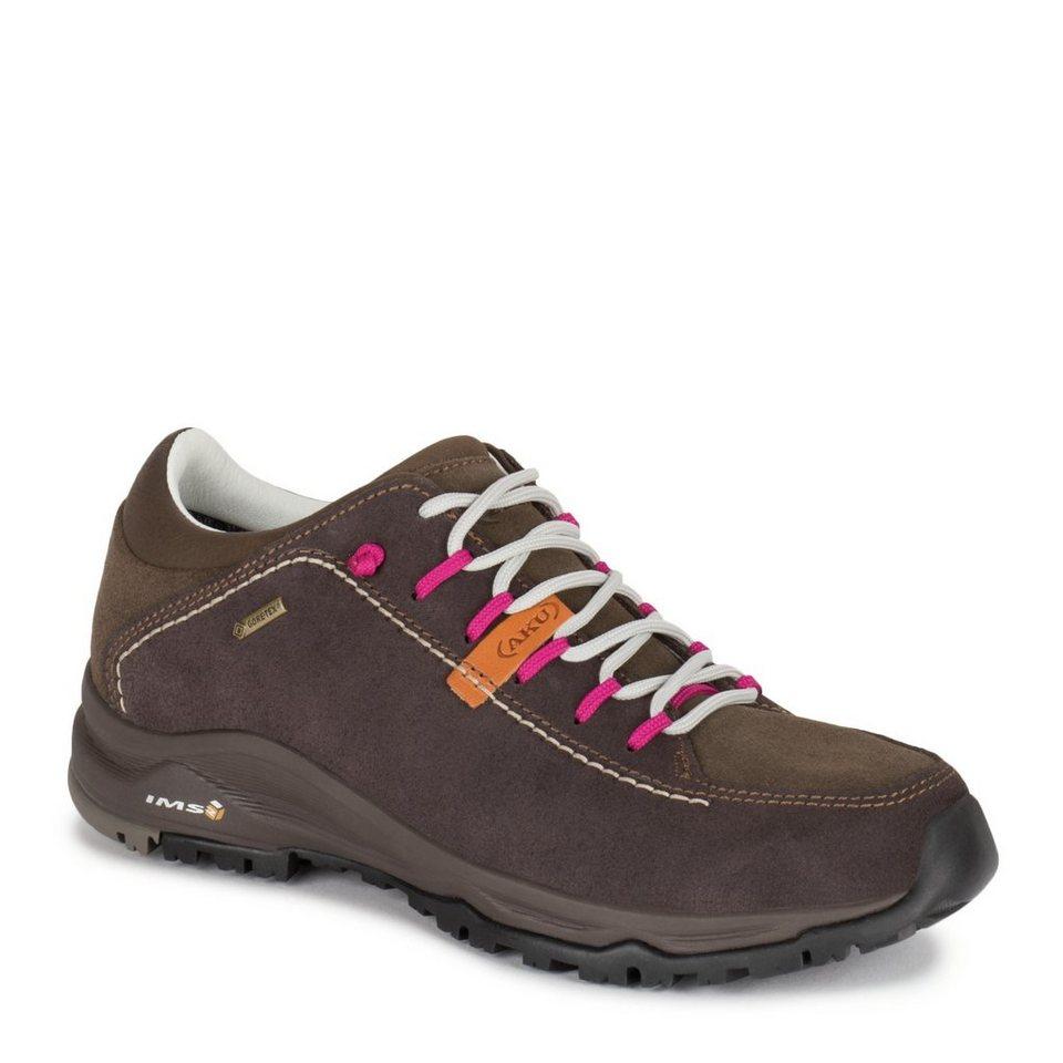AKU Freizeitschuh »Nemes Suede Low GTX Shoes Women« in braun