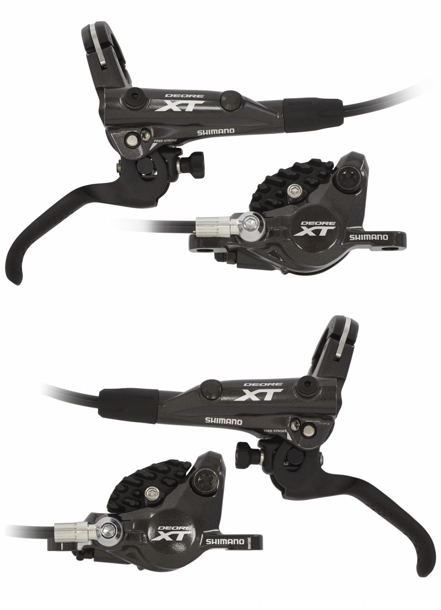 Shimano Scheibenbremse »Deore XT BR-M8000 Scheibenbremsen Bundle mit J02A«