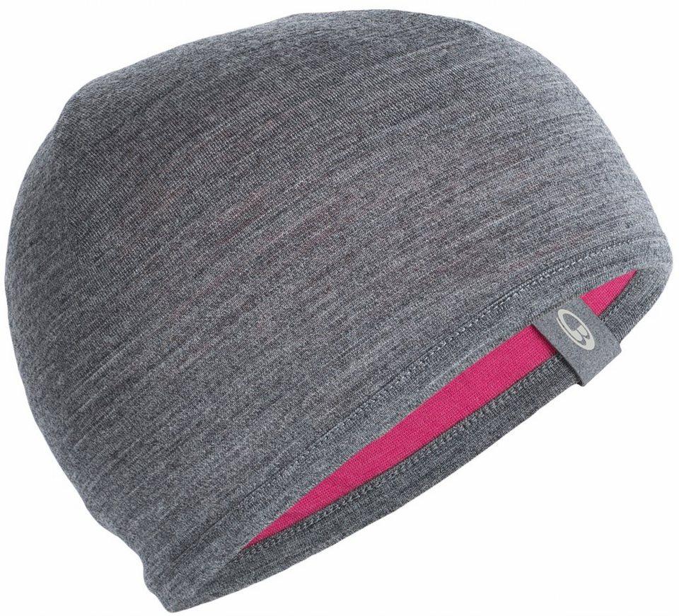 Icebreaker Mütze »Pocket Hat Kids« in grau