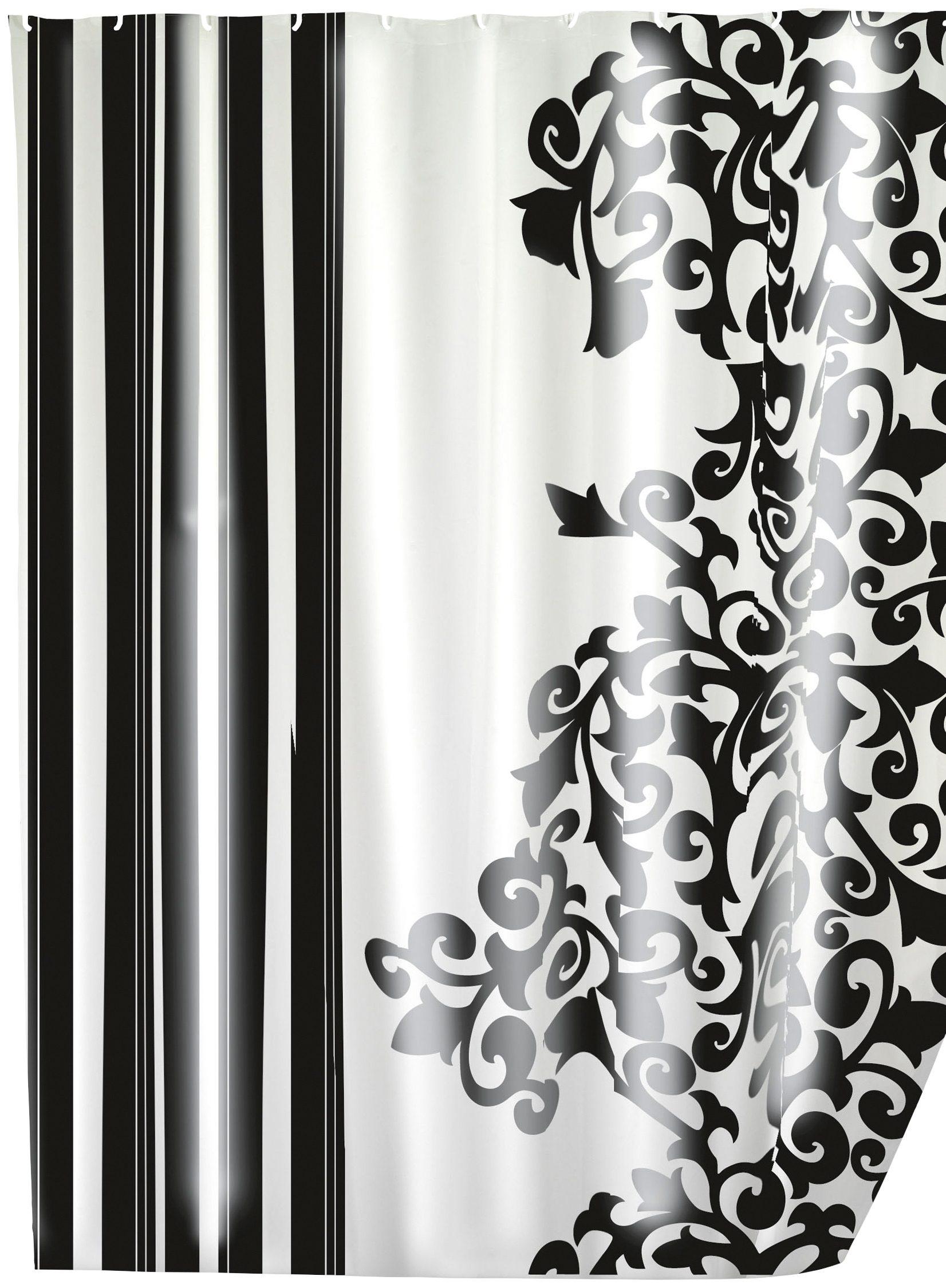 Duschvorhang »Ornamento Nero Duschvorhang«