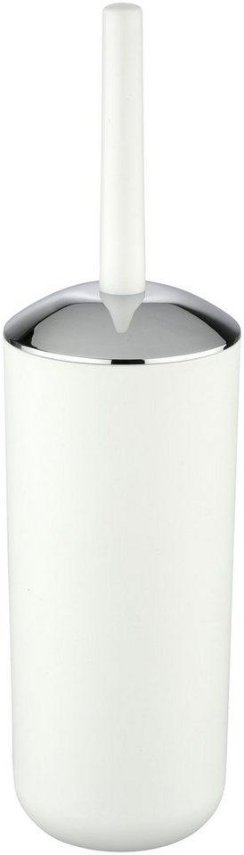 Bad-Accessoire-Set »WC-Garnitur und Kosmetikeimer« in weiß/chromfarben