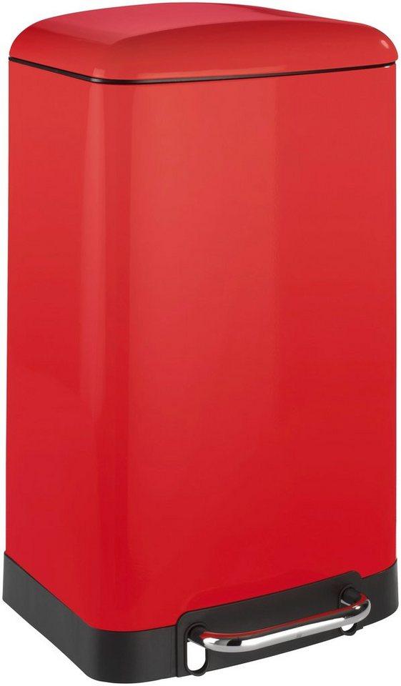 Tret-Abfalleimer »Studio 30 l« in rot