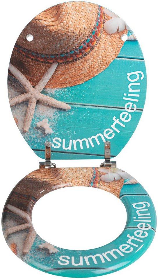 WC-Sitz »Summer Feeling« in bunt