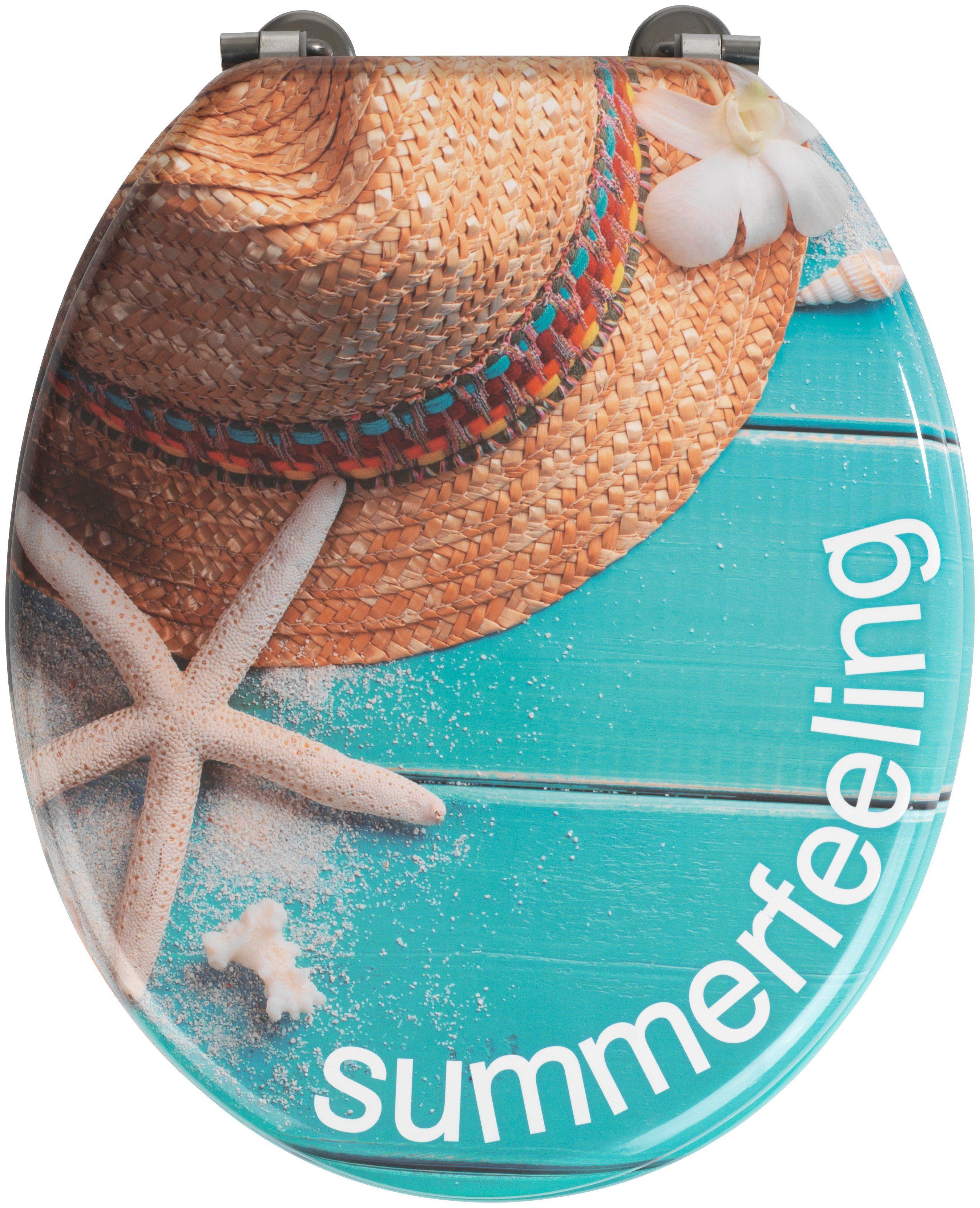 Wenko WC-Sitz »Summer Feeling«