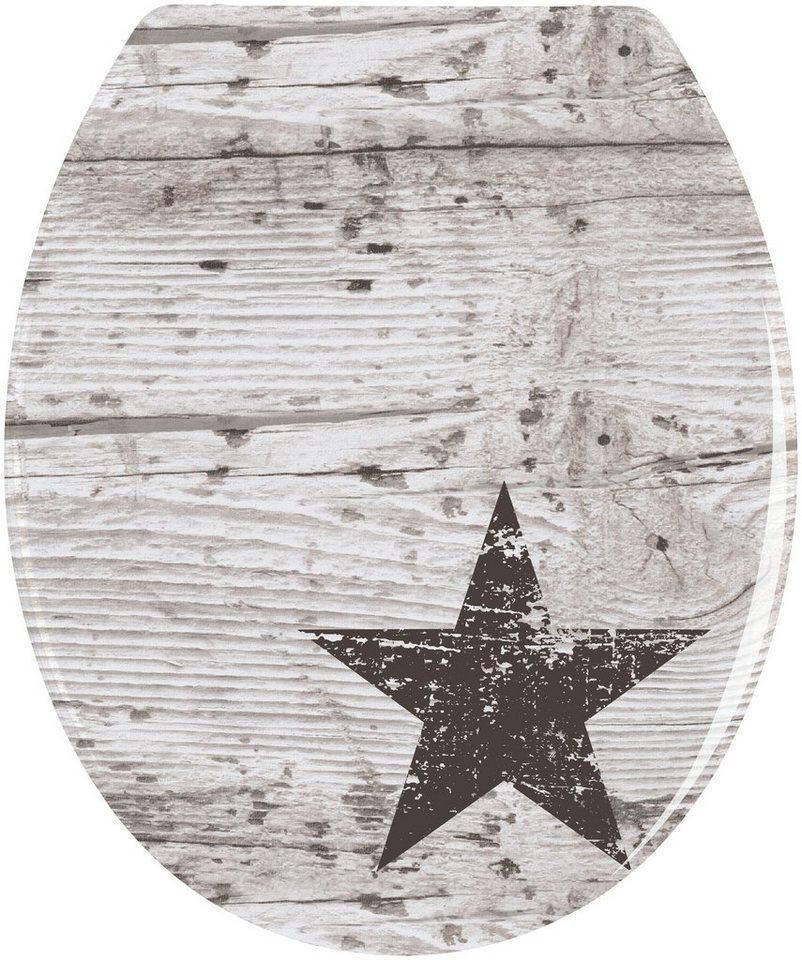 WC-Sitz »Star« in bunt