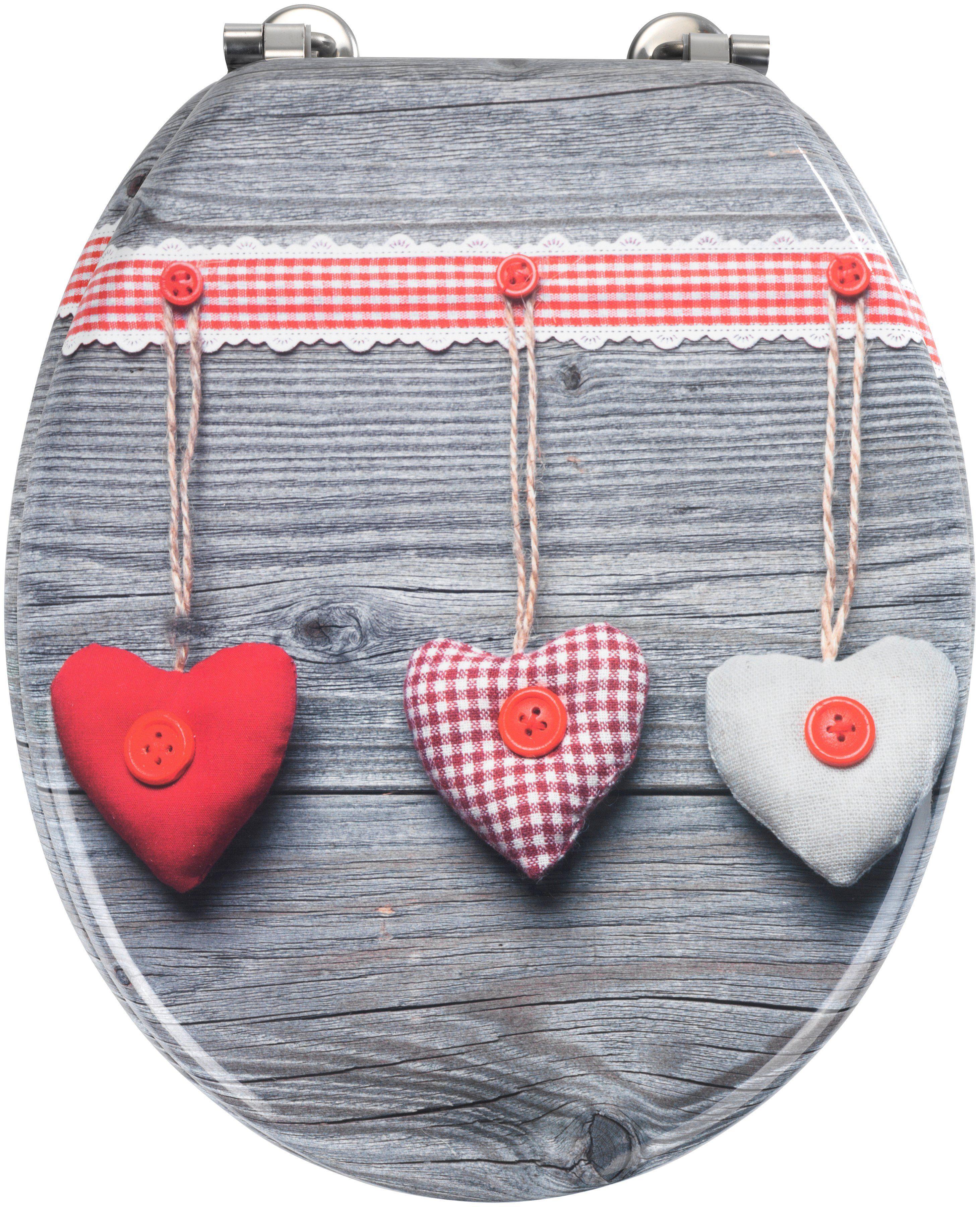 WC-Sitz »Bavarian Hearts«