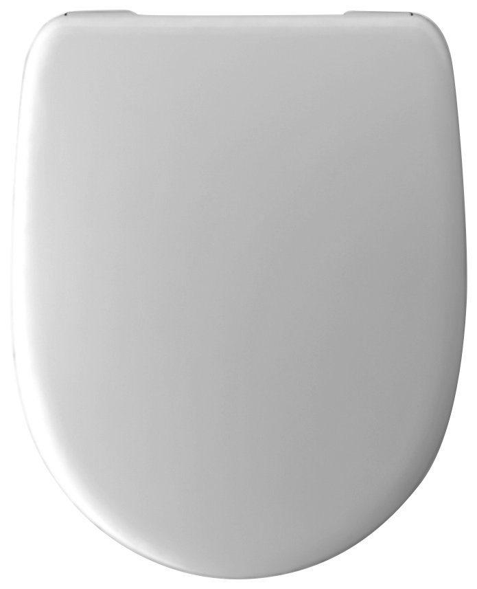 Wenko WC-Sitz »Viano Deluxe WC-Sitz«, Mit Absenkautomatik in weiß