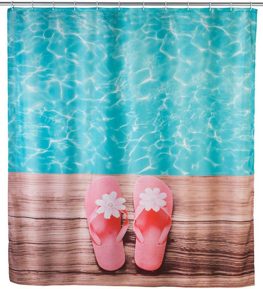 Duschvorhang »Hawaii« in bunt