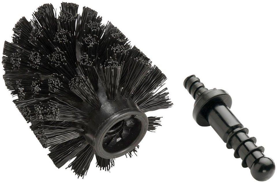 Ersatzbürste »Ersatzbürste für Wenko WC-Garnituren schwarz« in schwarz