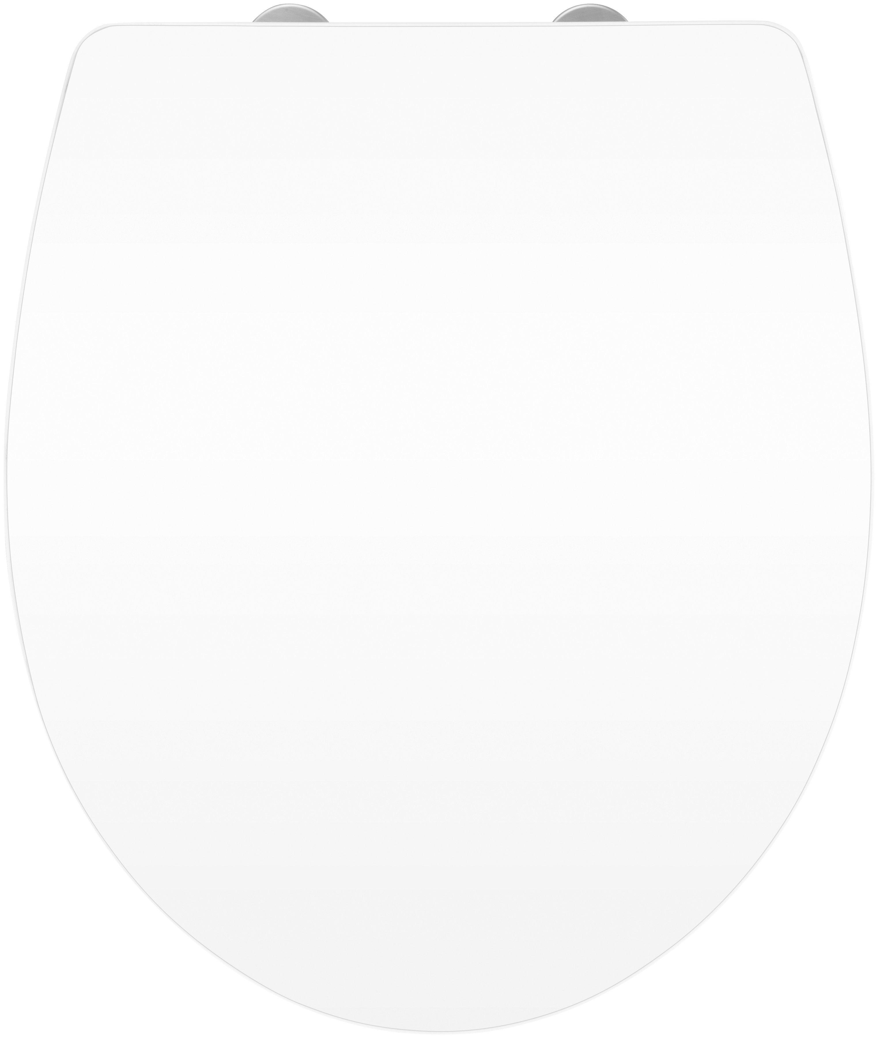Wenko WC-Sitz »Hochglanz Acryl«, Mit Absenkautomatik
