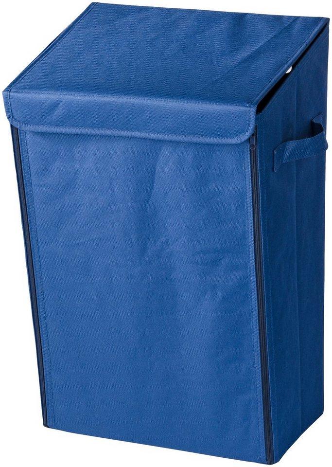 Wäschesammler »Mobiler Wäschesammler Blau« in blau