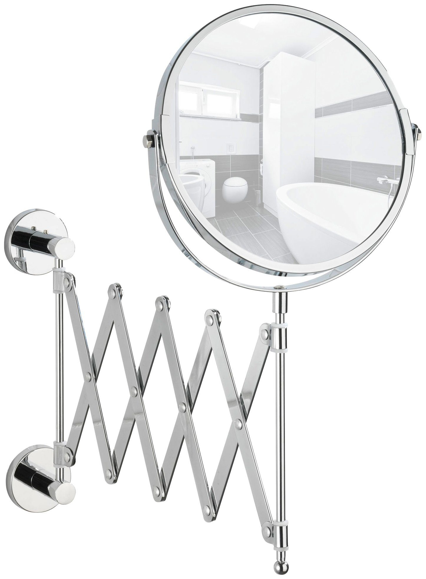 Kosmetikspiegel »Power-Loc Teleskop Kosmetikspiegel Elegance«