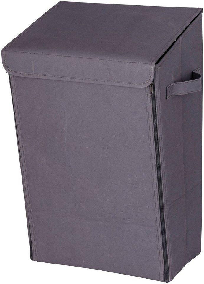 Wäschesammler »Mobiler Wäschesammler Grau« in grau