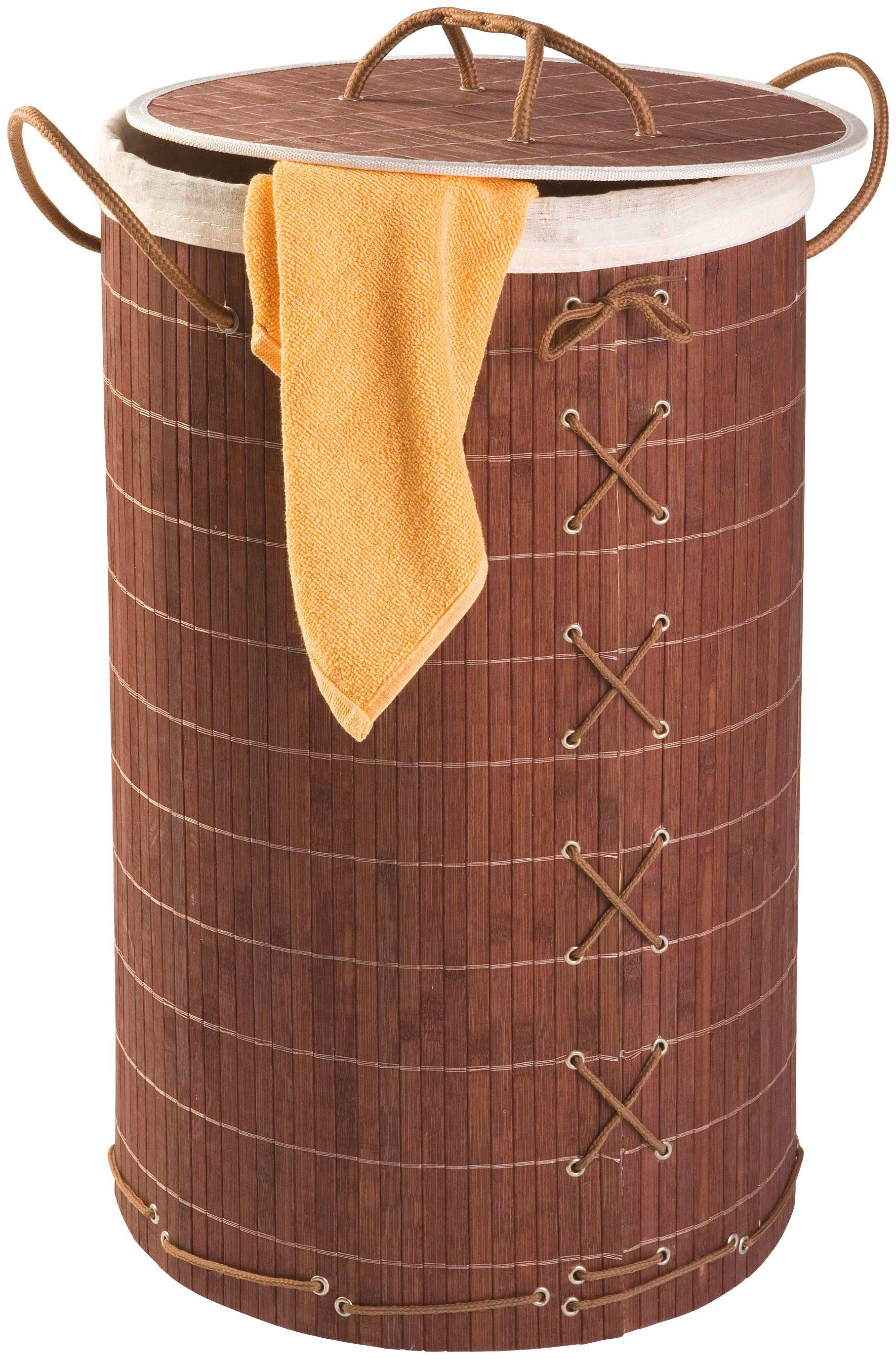 Wäschesammler »Bamboo 55l«