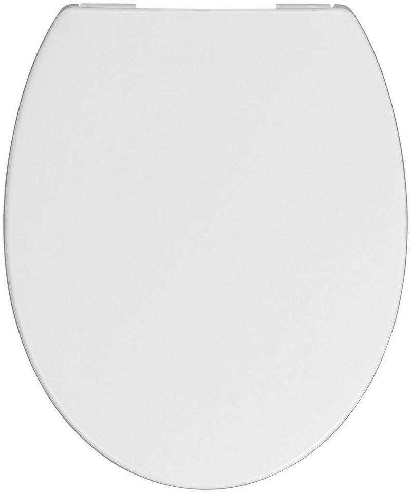 WC-Sitz »Pianora«, Mit Absenkautomatik in weiß
