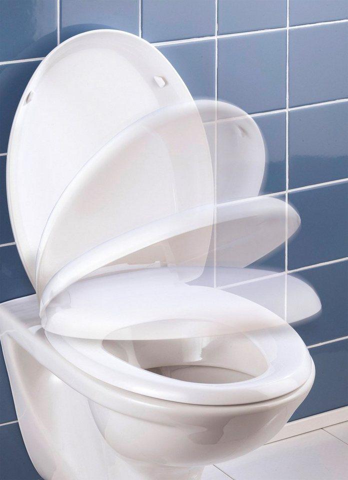 WC-Sitz »Bassano«, Mit Absenkautomatik in weiß