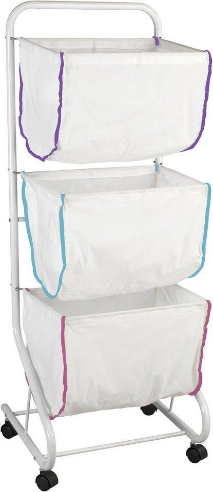 Wäschesammler »Escala« in weiß