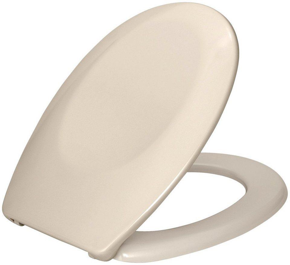 WC-Sitz »Bergamo«, Mit Absenkautomatik in beige