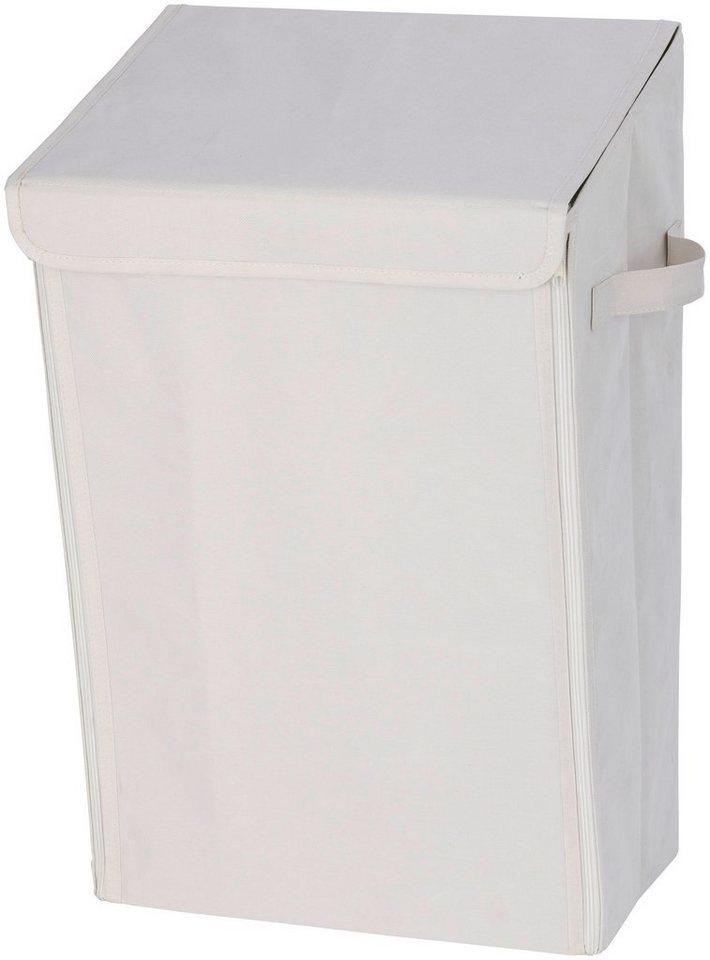 Wäschesammler »Mobiler Wäschesammler beige« in beige