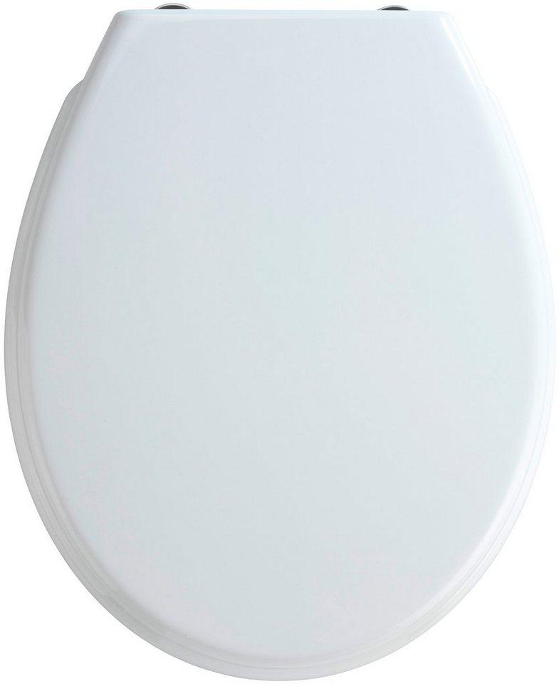 WC-Sitz »Bilbao«, Mit Absenkautomatik in weiß