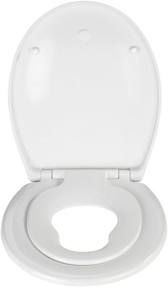 WC-Sitz »Bambino«, Mit Absenkautomatik in weiß