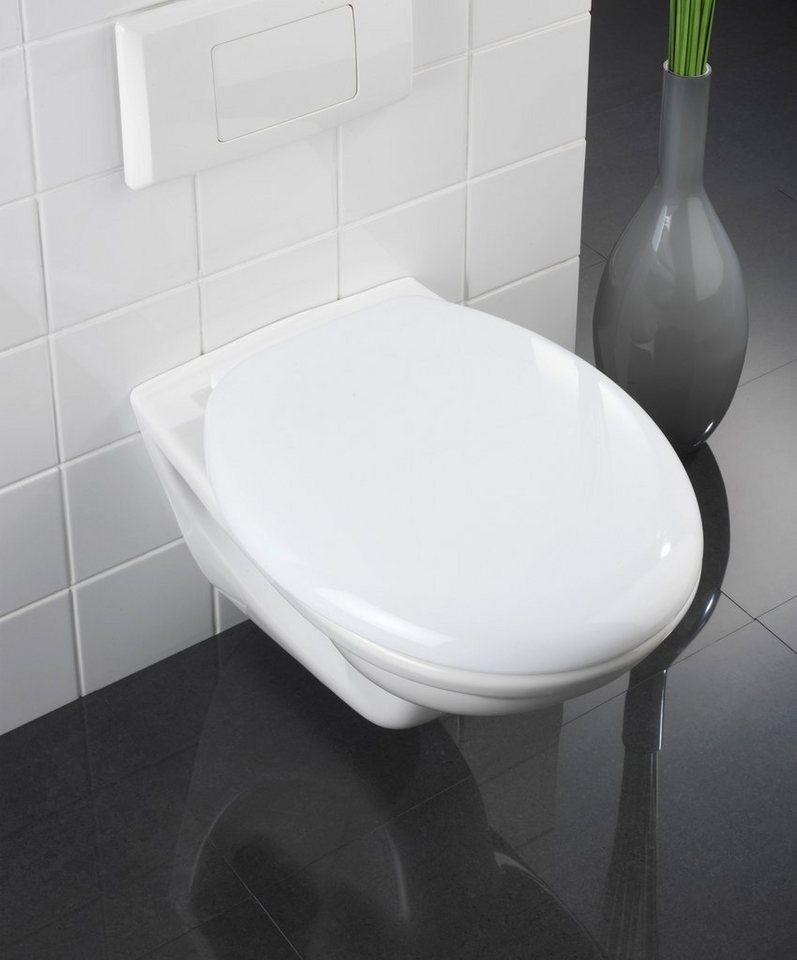 WC-Sitz »Glow«, Mit Absenkautomatik in weiß