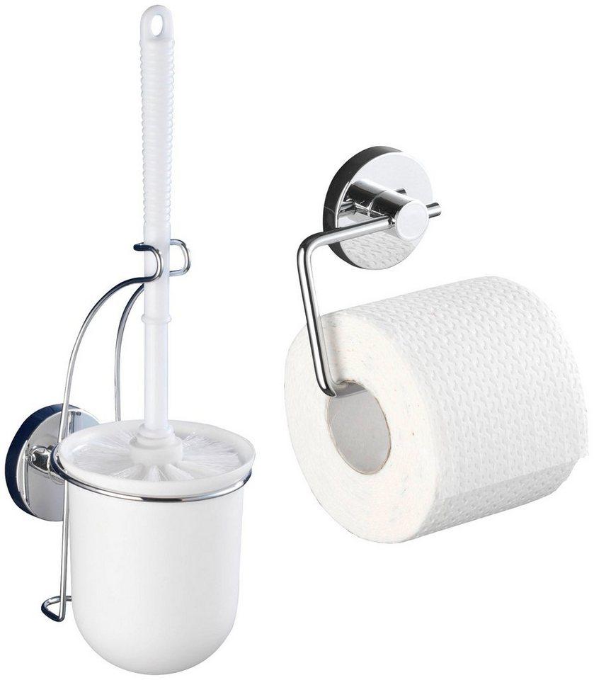 WC-Garnitur »Milazzo« in chromfarben