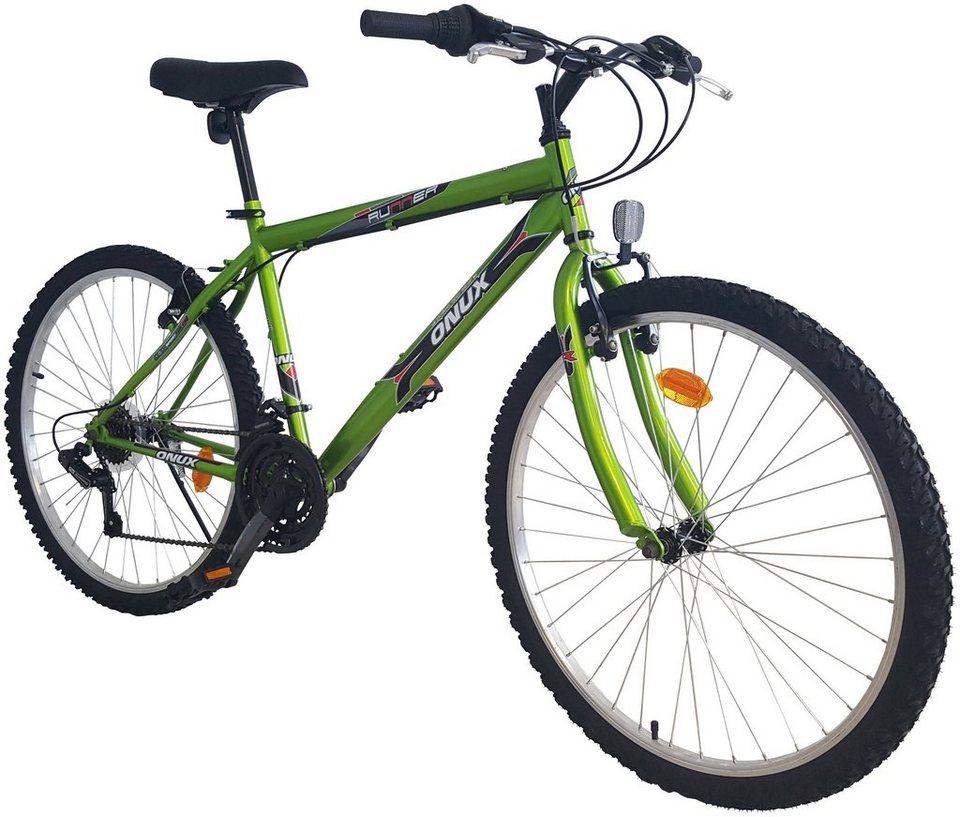 """Onux Mountainbike (Herren) »""""Cruzader"""", 66,04 cm (26 Zoll)« in grün"""