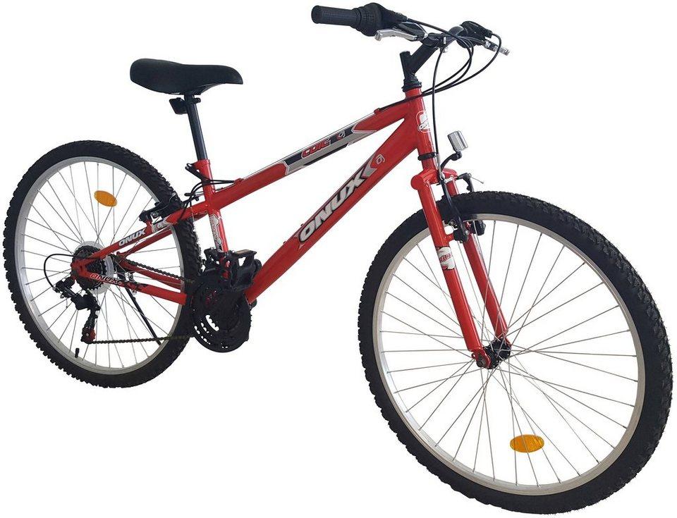 "Onux Mountainbike (Damen) »""Cruzader"", 66,04 cm (26 Zoll)« in rot"