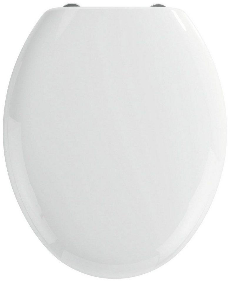 WC-Sitz »Mira«, Mit Absenkautomatik in weiß