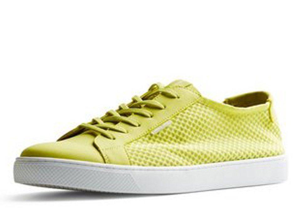 Jack & Jones Mesh- Sneaker in SULPHUR SPRING