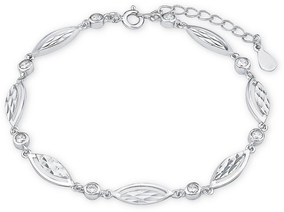 Amor Armband mit Zirkonia, »H42/10, 509817« in Silber 925
