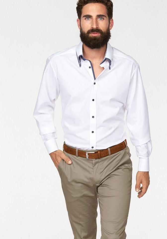 Bruno Banani Businesshemd in weiß