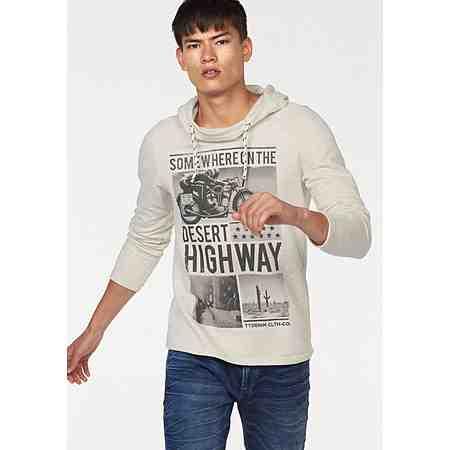Tom Tailor Denim Kapuzensweatshirt »Desert Highway«