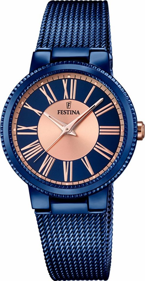Festina Quarzuhr »F16967/1« in blau