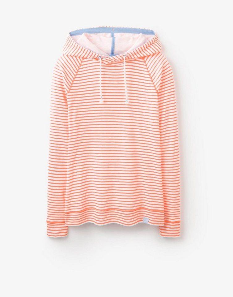 Tom Joule Sweatshirt »MARLSTON« in Fluoro Orange Stripe