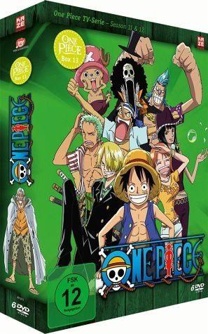 DVD »One Piece - Die TV Serie - Box Vol. 13 (6 Discs)«