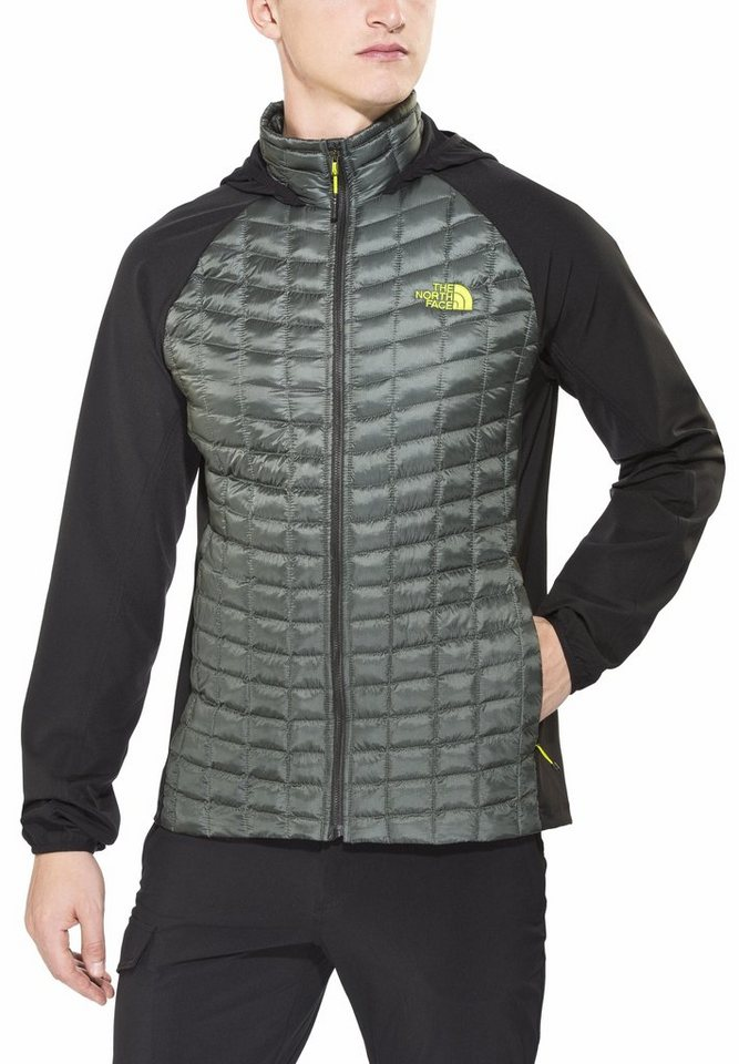 The North Face Outdoorjacke »Thermoball Hybrid Hoodie Men« in schwarz