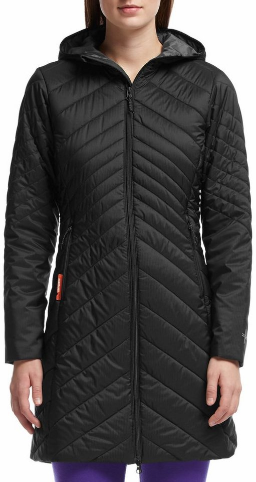 Icebreaker Outdoorjacke »Stratus 3/4 Jacket Women« in schwarz